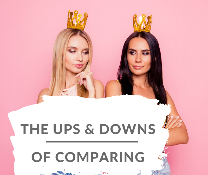 The Ups and Downs of Comparing